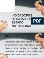 INDICADORES BIOQUIMICOS