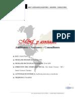 m&f y Asociados - Empresa Auditora