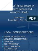 Legal_Issues_in_Maternal_Newborn_and_Women's_Health_Spring_2011.ppt