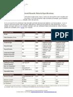 Phenolic Specs Comparision