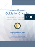 Guide for Charities