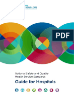 National Safety and Quality Health Service Standards Guide for Hospitals