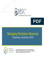 BASIC Workplace Absences PPT 9.25.14