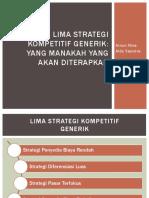 Lima Strategi Kompetitif Generik