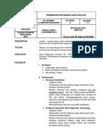 PPK-1 Pemberian Informasi Dan Edukasi