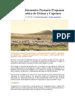 En Primer Encuentro Pecuario Proponen Mejora Genética de Ovinos y Caprinos