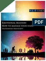 Michael Breen - Adv NLP Skills - 02 - Emotional Mastery Transcript.pdf