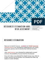 0_resources Estimation and Risk Assesment