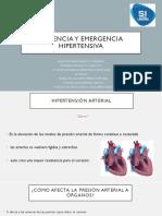 Urgencia y Mergencia Hipertensiva