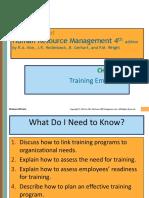 Measures of Training Success