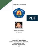 Tugas Estimasi Biaya (RAB) Saluran Drainase Politeknik Negeri Kupang
