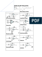 Op Amp Application