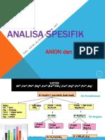 Analisa Spesifik Kation Anion 2017