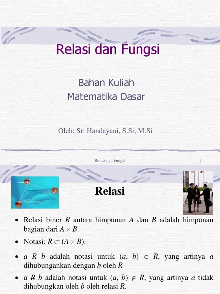 Relasi dan fungsi 1528252847v1 ccuart Images