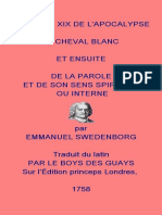 Du Cheval Blanc - Swedenborg