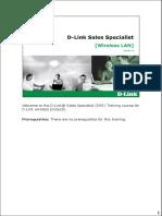 DSS-WLAN Training Material V1.0