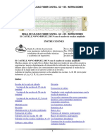 Instrucciones Castellano Regla de Cálculo Faber Castell 62 83 El Novo-biplex 2-3 n