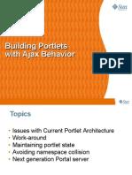 Building Portlets Building Portlets With Ajax Behavior With377
