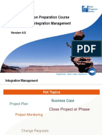 PMP Project Integration Management PMBOK V4.0