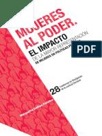 Mujeres Poder Impacto Mayor Representacion Mujeres Politicas Publicas