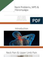 Common Neck Problems MPS Fibromyalgia
