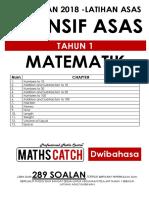 [PERCUMA] Modul Latihan Asas Persediaan Maths Tahun 1 (Dwibahasa)