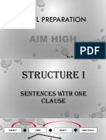 TOEFL Preparation Structure i