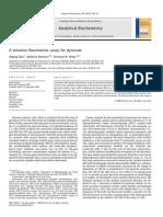 A Sensitive Fluorimetric Assay for Pyruvate