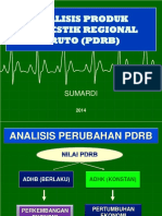 Indikator Makro Ekonomi Berbasis PDRB