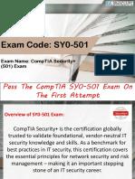 CompTIA SY0-501 Braindumps