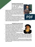Biografía de Bartolomé Díaz