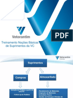 Treinamento Integração de Suprimentos Na VC - Inicial Aprendizagem