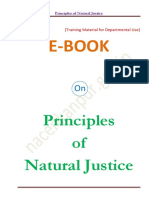 Principles of Natural Justice