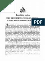 Izutsu • The Theophanic Ego