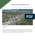 Traslasierra_ Paisajes de Cerros, Cóndores y Ríos Mansos