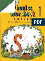 Jolly Phonics Workbook 1 [s a t i p n]