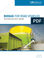 IRENA Biogas for Road Vehicles 2017