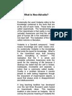 What is Neo-Advaita
