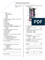 Examen de Computacion