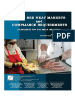 Red Meat Markets and Compliance Requirements