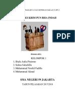 Proposal Prakarya Dan Kewirausahaan Pkwu