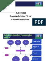 Presentation on Communication Options (Day-1)