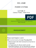 POWER SYSTEMS LECTURE 2