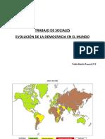 Trabajo de Sociales - Evolucion de La Democracia en El Mundo