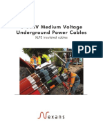 Medium Voltage Underground Power Cables Catalogue