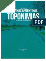 toponimias