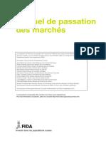 -Manuel de Passation Des Marchés FIDA