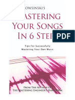 6 Steps to Mastering Your Songs Bonus