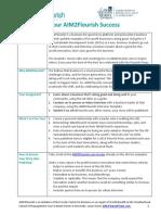 AIM2Flourish Student Steps to Success (1)