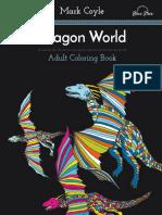 Adult Coloring Book - Dragon World.pdf